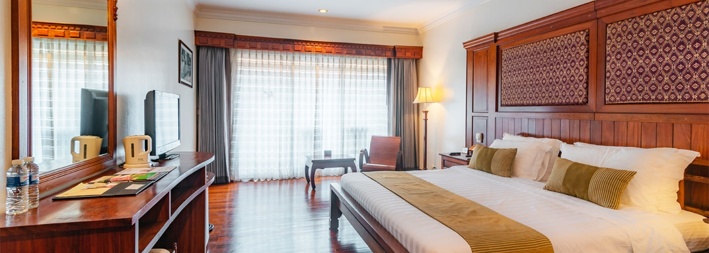 Empress Angkor, Rooms & Suites